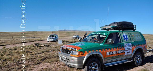 UCB emergencias en el Rally Argentina Córdoba-Carlos Paz